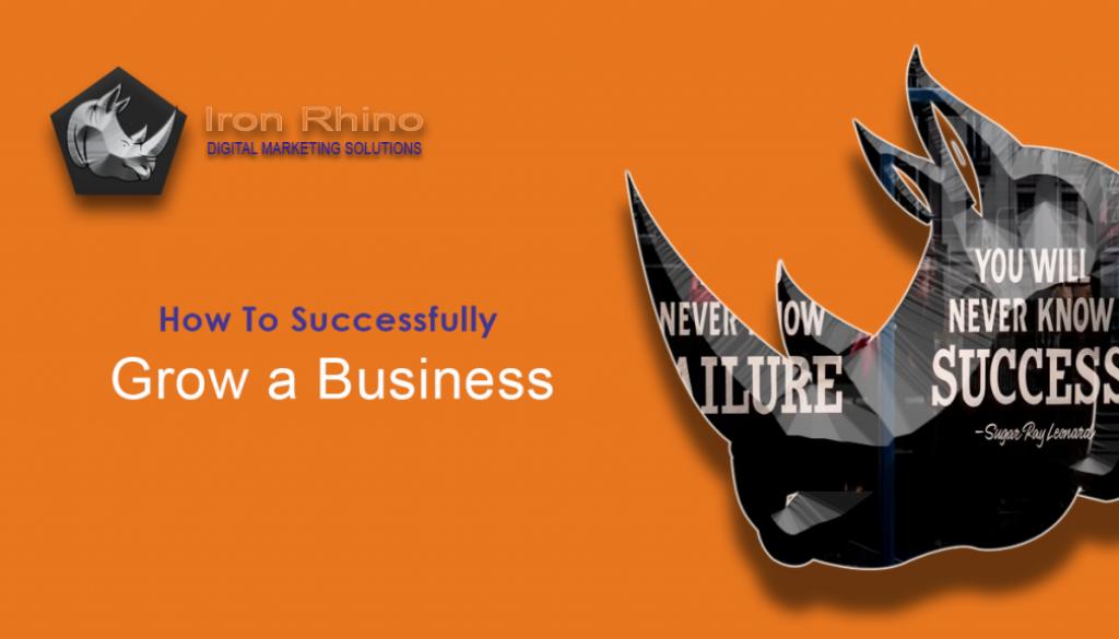 grow a business